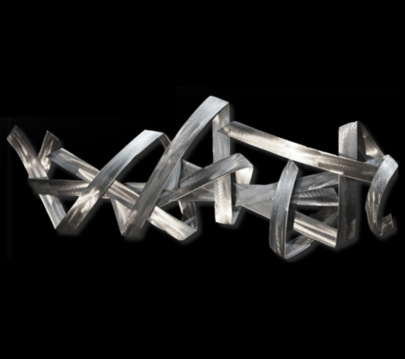 REGRESSION - Abstract Metal Art by Nicholas Yust