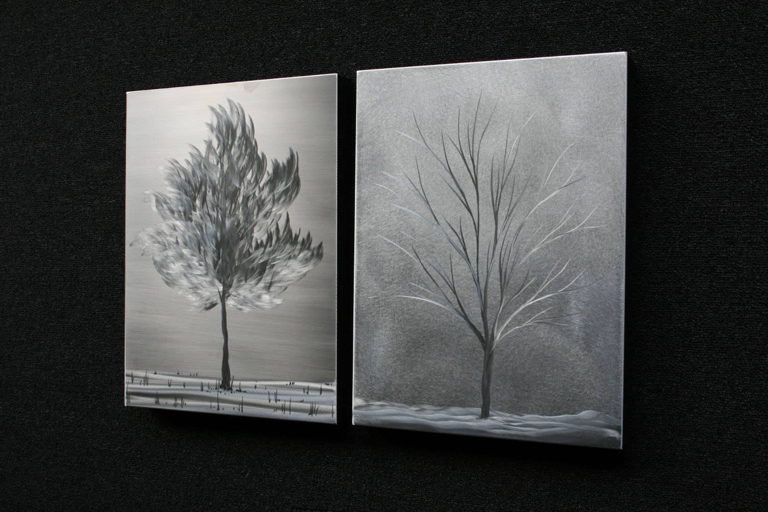 SEASONS LANDSCAPE - Metal Landscape Art by Nicholas Yust