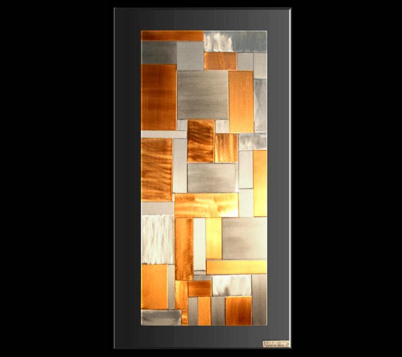 SLIP PLANES - Layered Copper Art by Nicholas Yust