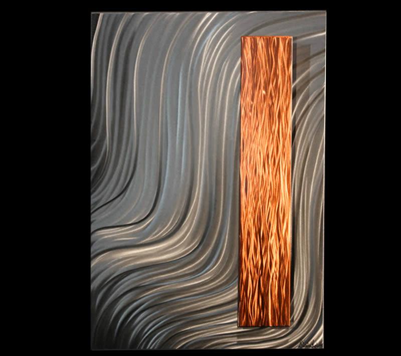 STABILITY - Copper Wall Art by Nicholas Yust