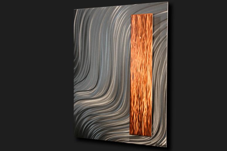 NY0705M - Metal Art by Nicholas Yust, Alternate Angle 1