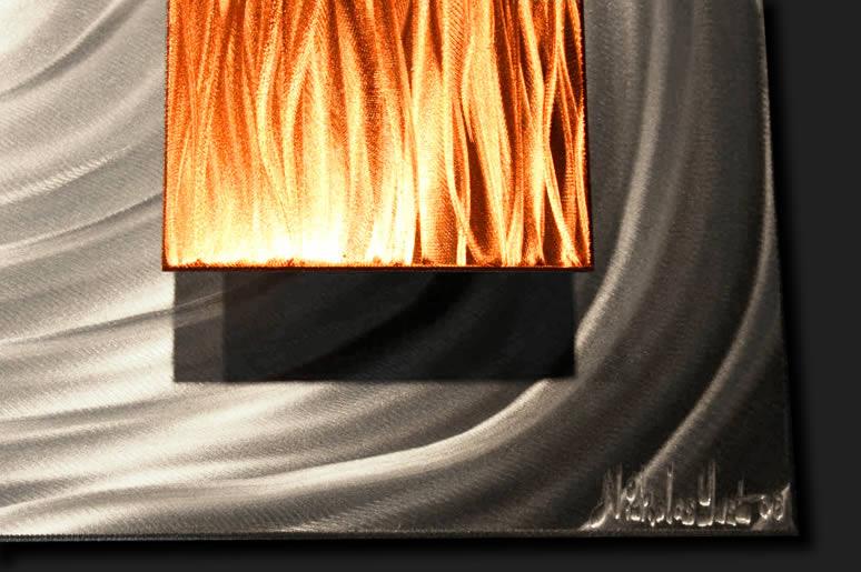 NY0705M - Metal Art by Nicholas Yust, Alternate Angle 4