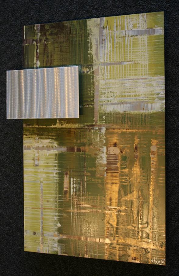 TALLIA GREEN - Abstract Metal Art by Nicholas Yust