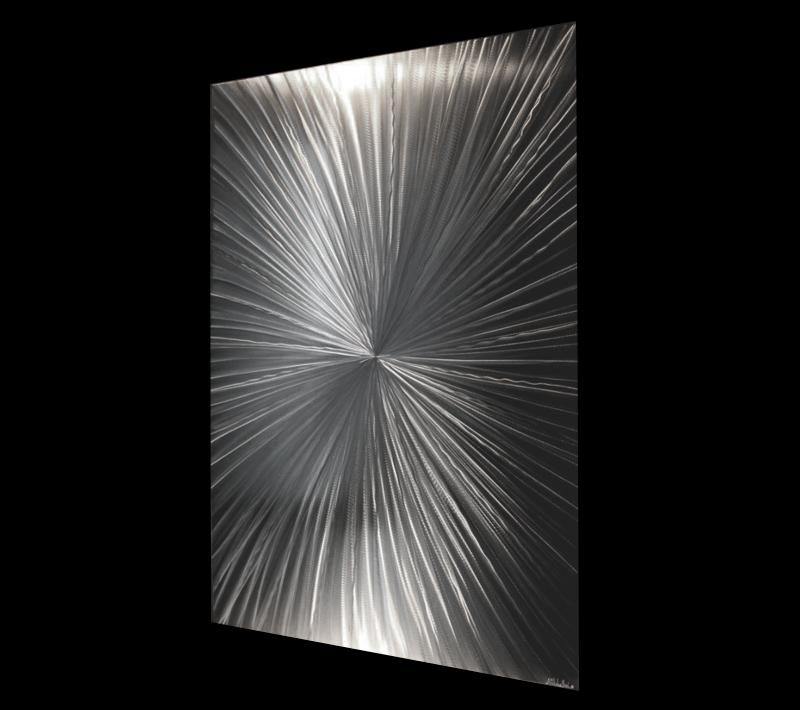 TANTALUM SINGLE - Hand-Ground Metal Art by Nicholas Yust