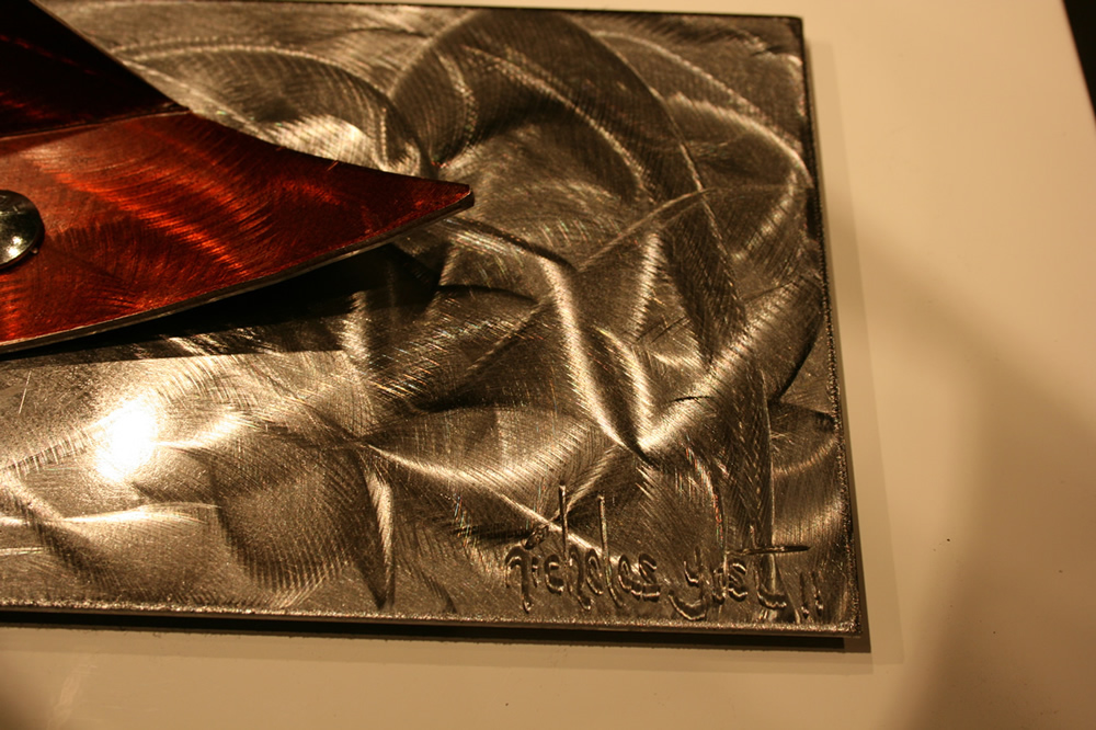 NY0726M - Metal Art by Nicholas Yust, Alternate Angle 1