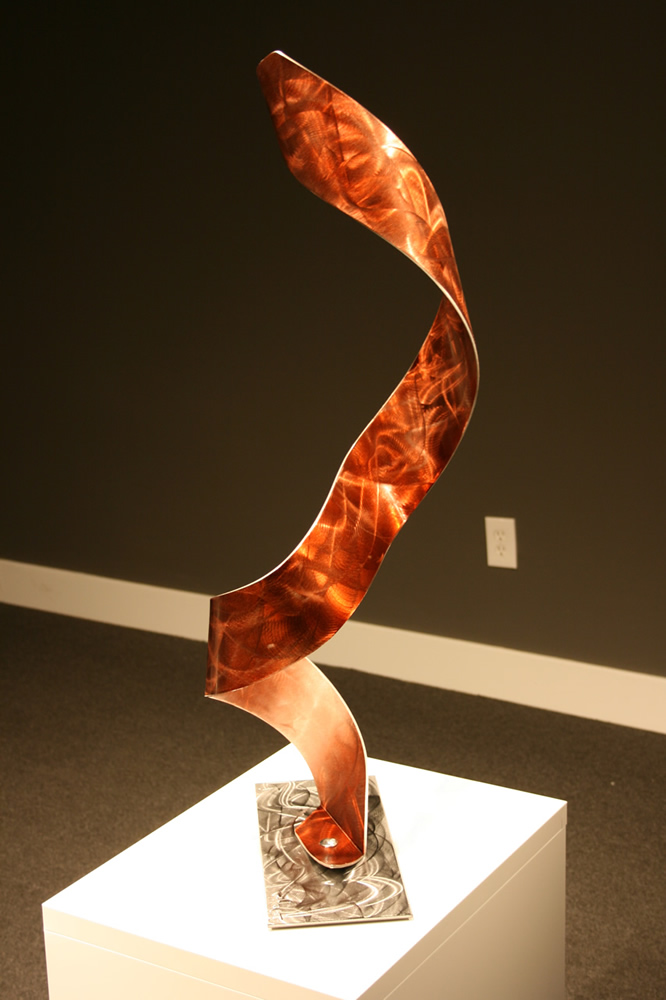 NY0726M - Metal Art by Nicholas Yust, Alternate Angle 2
