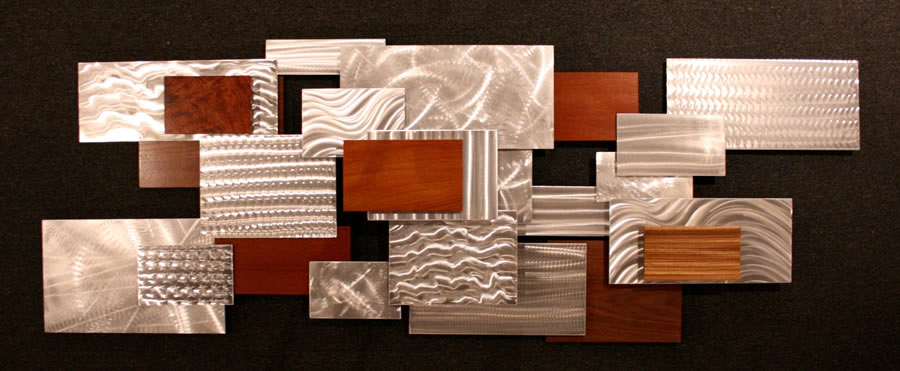 URBAN THICKET - Layered Metal Art by Nicholas Yust