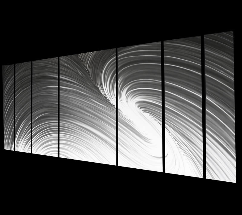 FUSION (LARGE) - Huge Metal Artwork by Nicholas Yust