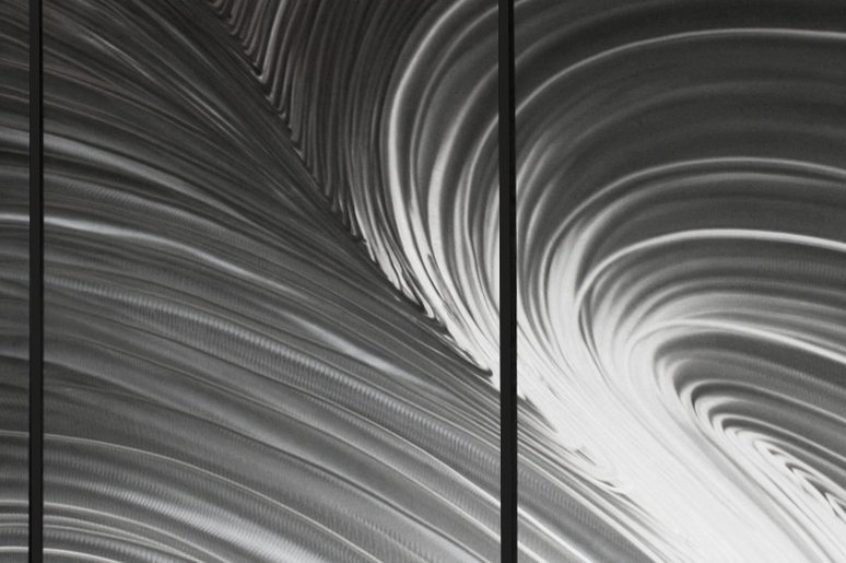 NYT0036M - Metal Art by Nicholas Yust, Alternate Angle 1