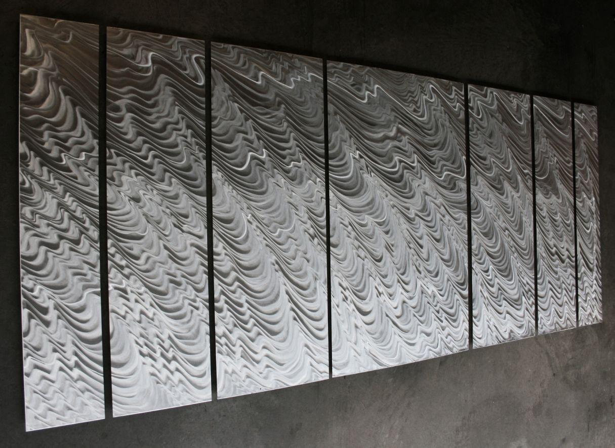 POLAR ENCAPSULATION (LARGE) - Huge Metal Artwork by Nicholas Yust