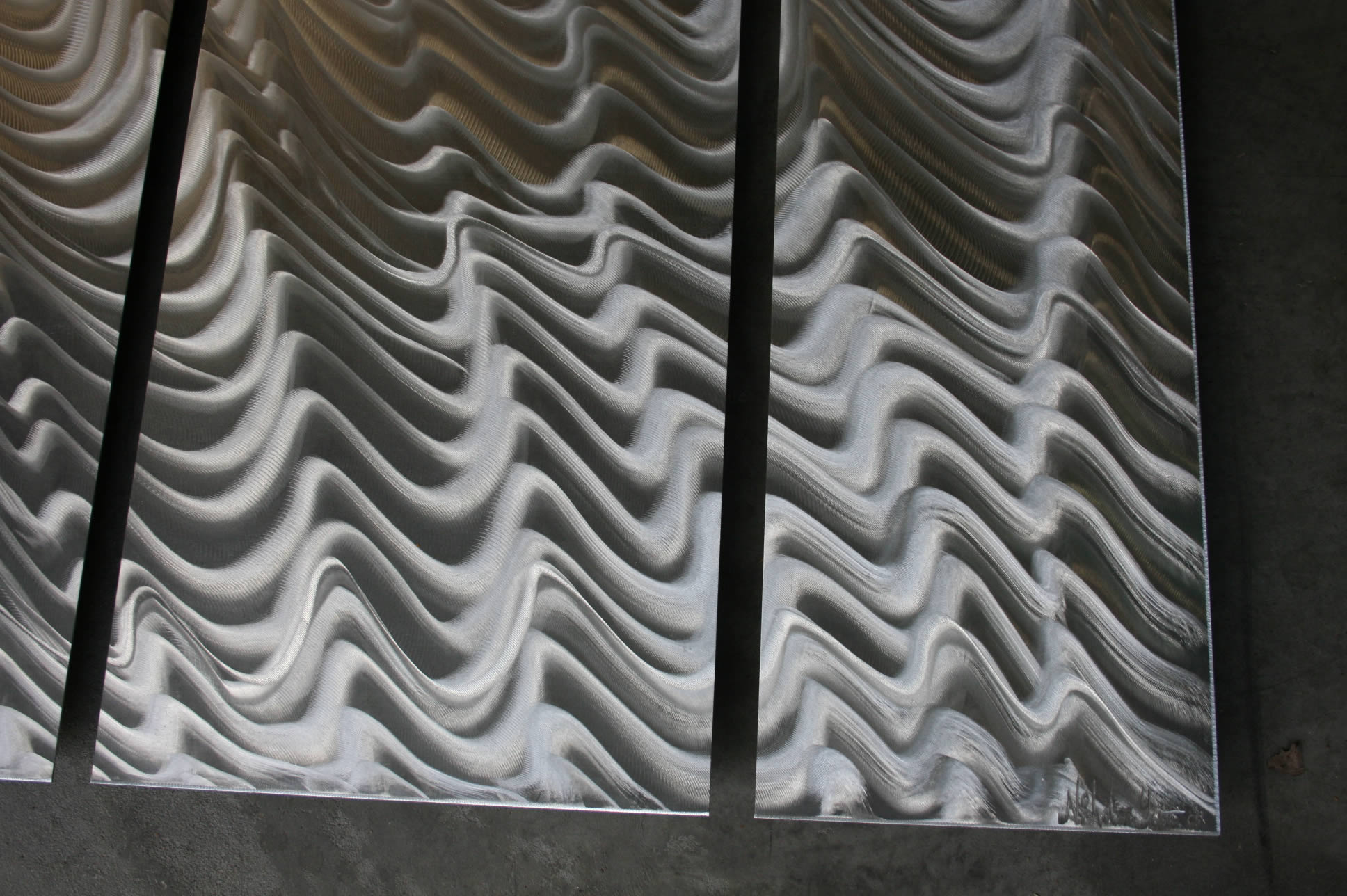 NYT0056M - Metal Art by Nicholas Yust, Alternate Angle 4