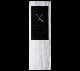 BLACK METAL CLOCK - Contemporary Decor by Nicholas Yust