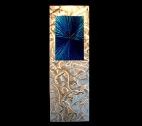 BLUE LUMINOSITY CLOCK - Contemporary Decor by Nicholas Yust
