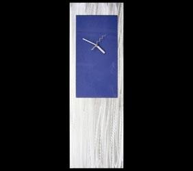 BLUE METAL CLOCK - Contemporary Decor by Nicholas Yust