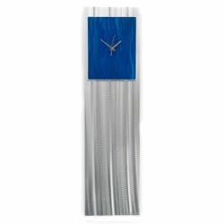 BLUE VIBE CLOCK - Contemporary Decor by Nicholas Yust