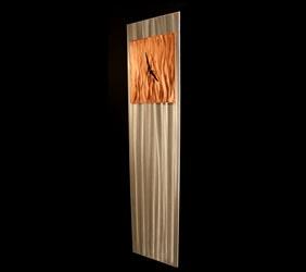 COPPER VIBE CLOCK - Contemporary Decor by Nicholas Yust