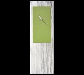 GREEN METAL CLOCK - Contemporary Decor by Nicholas Yust