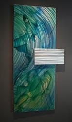 JULPA - Abstract Metal Painting by Nicholas Yust