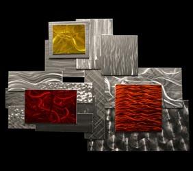 PLANUM - Layered Metal Art by Nicholas Yust