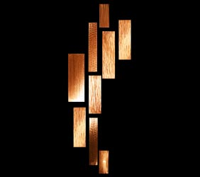CASCADE - Copper Panels by Nicholas Yust
