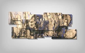 CLOUD LAYERS - Layered Metal Art by Nicholas Yust