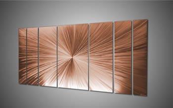 COPPER TANTALUM LARGE - Huge Starburst by Nicholas Yust