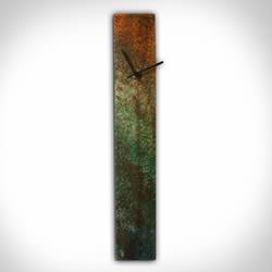 CORROSION COLORED CLOCK - Contemporary Decor by Nicholas Yust