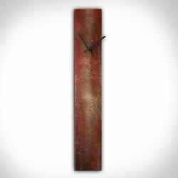 CORROSION RED CLOCK - Contemporary Decor by Nicholas Yust