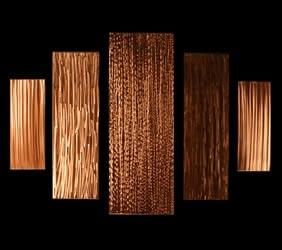 DISSIPATION - Copper Panels by Nicholas Yust
