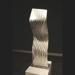 DIVISION - Silver Metal Sculpture by Nicholas Yust