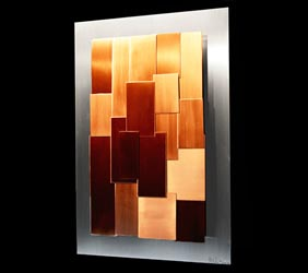 GRADIENCE - Layered Copper Art by Nicholas Yust