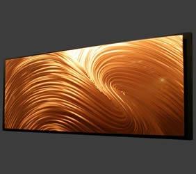 H-ALPHA - Elegant Copper Art by Nicholas Yust