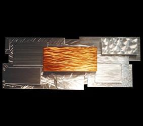 HALLIDE V2 - Layered Copper Art by Nicholas Yust