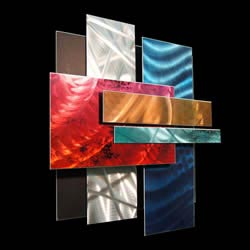 ICE SPECTRUM 1 - Multidimensional Metal Art by Nicholas Yust