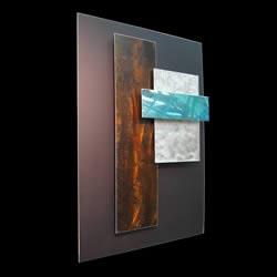 ICE SPECTRUM 2 - Multidimensional Metal Art by Nicholas Yust