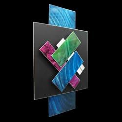 ICE SPECTRUM 4 - Multidimensional Metal Art by Nicholas Yust