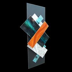 ICE SPECTRUM 5 - Multidimensional Metal Art by Nicholas Yust