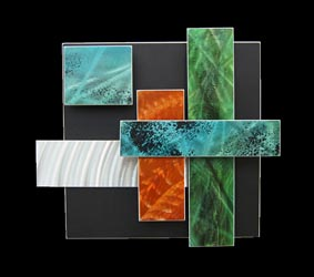 ICE SPECTRUM 6 - Multidimensional Metal Art by Nicholas Yust