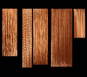 ICICLES - Copper Panels by Nicholas Yust