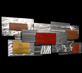 LACUNA - Multidimensional Metal Art by Nicholas Yust