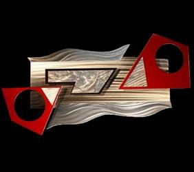 MOLA - Abstract Metal Art by Nicholas Yust
