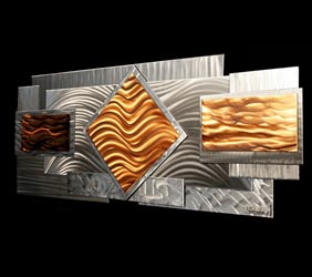 RELUCTANCE - Layered Copper Art by Nicholas Yust