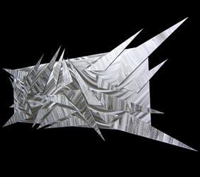 SHIFTING ICE - Abstract Metal Art by Nicholas Yust