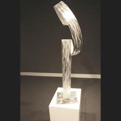 SILVER MADONNA - Silver Metal Sculpture by Nicholas Yust