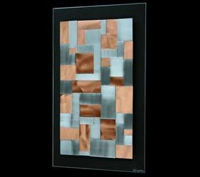 SLIP PLANES V2 - Layered Copper Art by Nicholas Yust