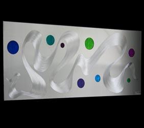 SOLAR WIND V2 - Abstract Metal Art by Nicholas Yust