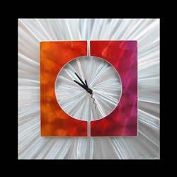 SPLICE CLOCK PINK - Contemporary Decor by Nicholas Yust