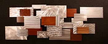 URBAN THICKET - Layered Metal Art by Nicholas Yust