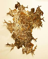 UTOPIA - Abstract Metal Art by Nicholas Yust