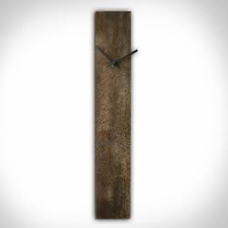 CORROSION BROWN CLOCK - Contemporary Decor by Nicholas Yust